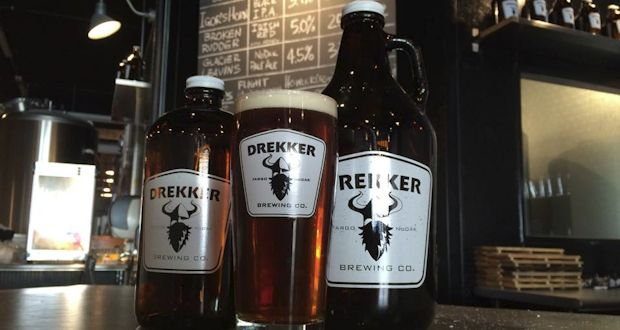 Drekker Brewing Company's Taproom is Open