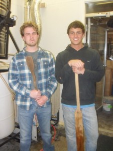 Aaron Junke and his brother Dan of Junkyard Brewing