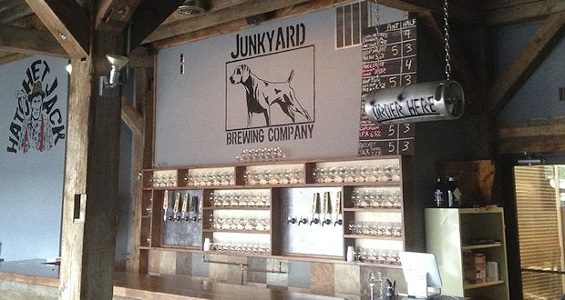 Junkyard Brewing Company's new taproom is now open