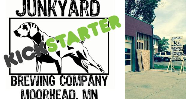 Junkyard Brewing Kickstarting Their New Taproom