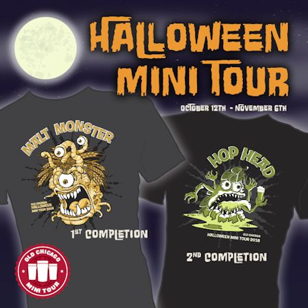 old chicago halloween mini tour 2016