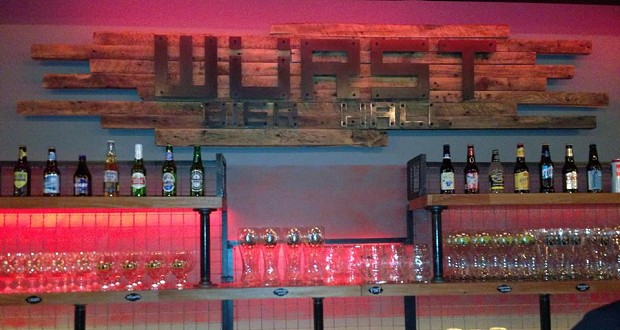 Würst Bier Hall is now open